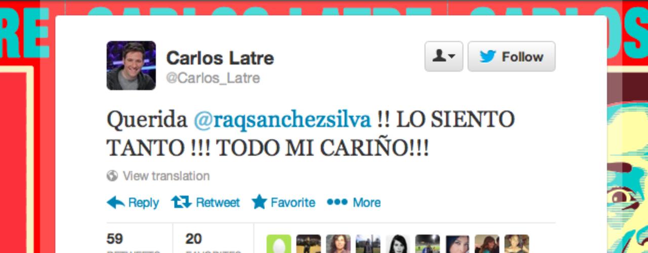 Carlos Latre: \