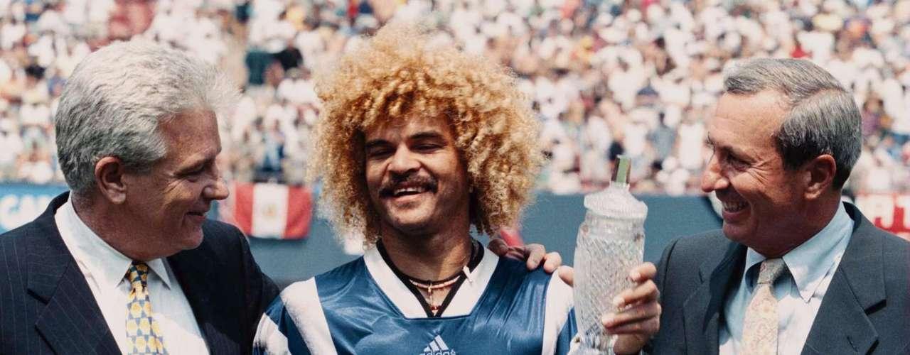 9. Brillando en la MLS: En 1996 emigró a Estados Unidos para jugar en Tampa Bay Mutiny (1996-97 y 2000-01), Miami Fusion (1998-99) y Colorado Rapids (2001-02). Durante su etapa en Estados Unidos, fue cedido a préstamo en 1997 al Deportivo Cali donde jugó en los meses de abril y mayo. Posee el récord de asistencias de la Major League Soccer, con 114, y ganó dos veces el premio como el Jugador más valioso del Juego de Estrellas de la MLS (1996 y 1997).