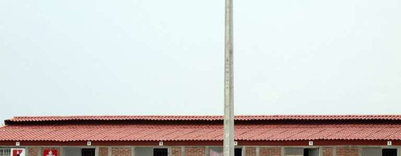 Al hacer la inspección de la empresa los agentes de la Fiscalía constataron que el área destinada a alojar a los trabajadores \