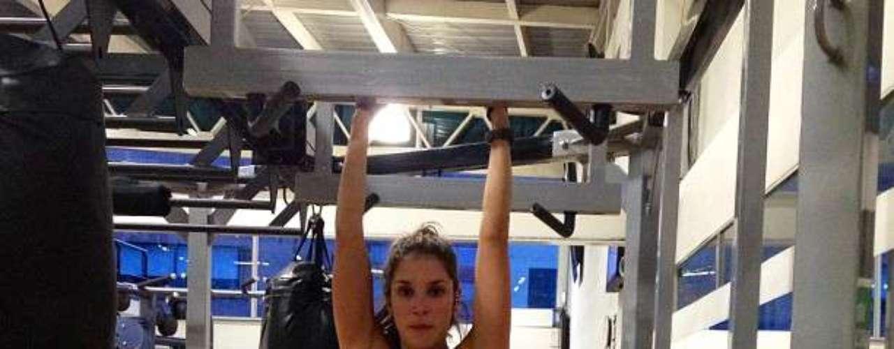 La actriz tras un cambio de hábitos, ha hecho del ejercicio un estilo de vida que no solo le ha otorgado un buen estado fisico, sino también un cuerpo muy bien tonificado
