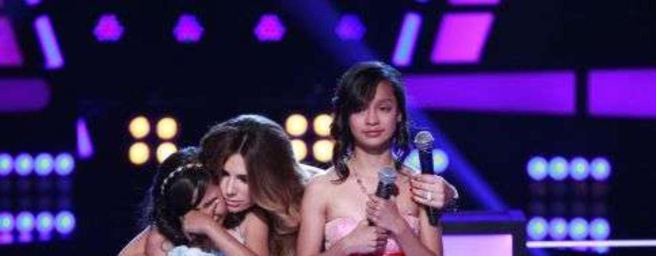 Fue el momento de la noche donde estas pequeñas artistas se lucieron, siendo Jennifer la ganadora.