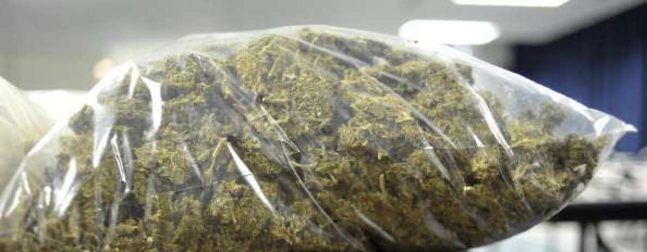 El informe detalla que en cuanto a la marihuana, México y EE.UU. son los países en lo que se incauta más volumen, alrededor del 70 % de las 5.700 toneladas interceptadas en todo el mundo en 2011 se capturaron en estos países.