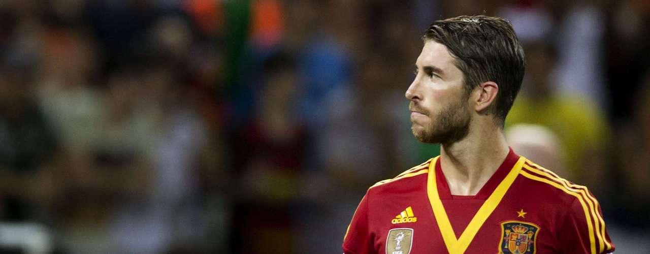 Sergio Ramos mostró soltura y contundencia a la hora de cobrar el tiro penal.