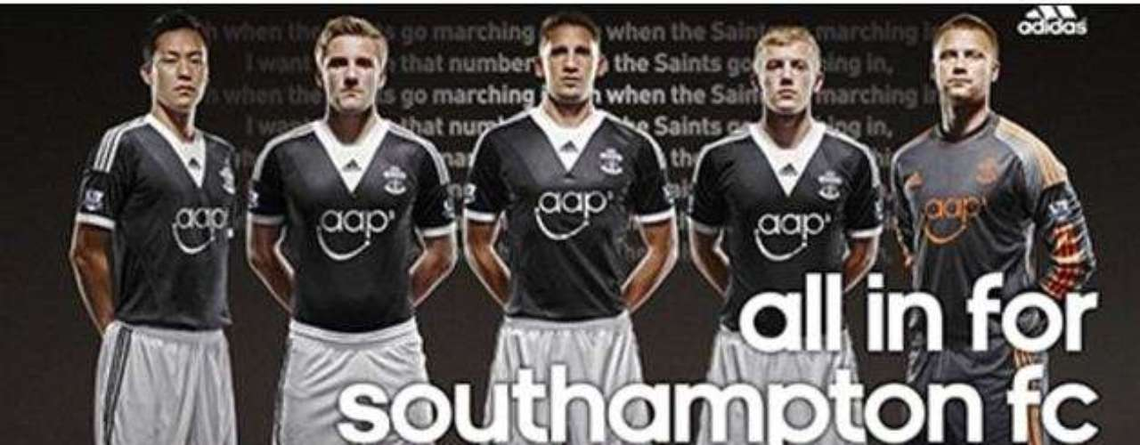 The Southampton away jerseys will go to the increasingly popular black jerseys.