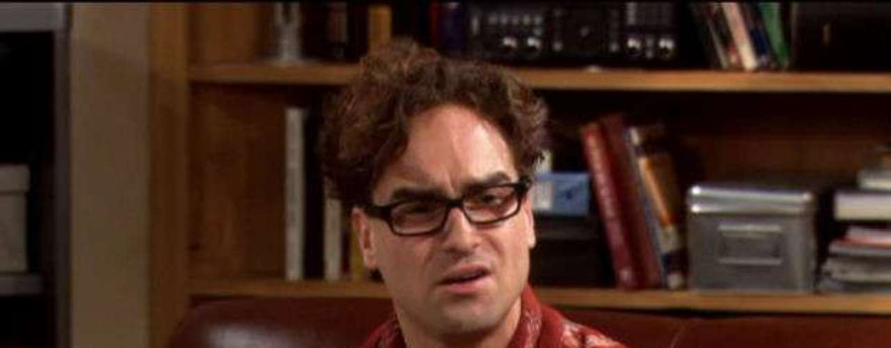 Johnny Galecki es el dr. Leonard Hofstadter.
