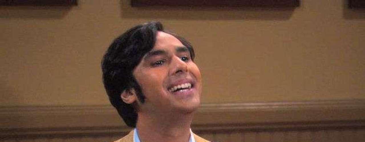 Kunal Nayyar es Raj Koothrappali.