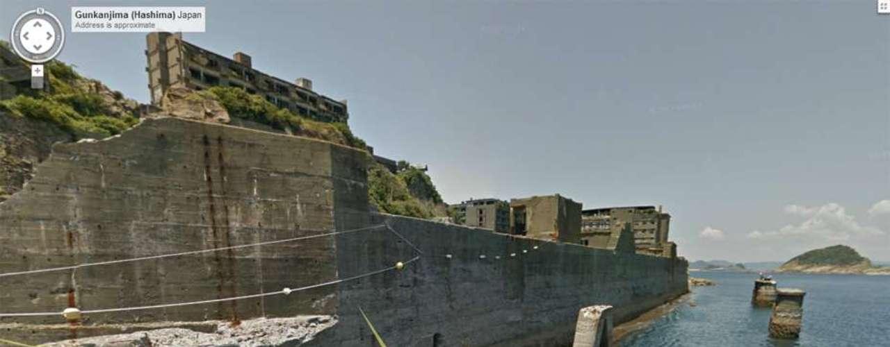 Google mandó a su equipo de Street View - herramienta que proporciona imágenes panorámicas a nivel de calle - a uno de los sitios más aislados del mundo,la isla japonesa Gukanjima.