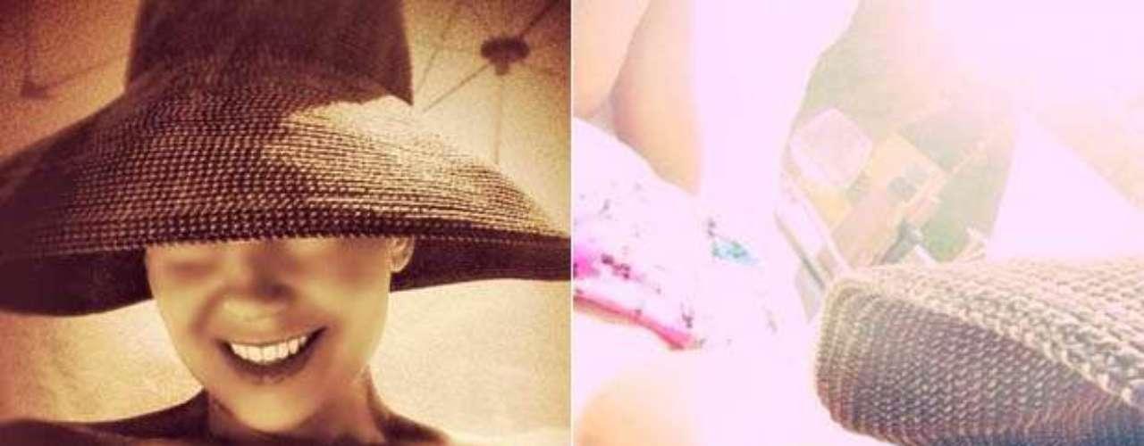 Thalía aprovechó la época más caliente del año: el verano, para prender las pasiones de muchos fanáticos al compartir por las redes sociales una fotografía suya luciendo un pequeño bikini color rosado. \