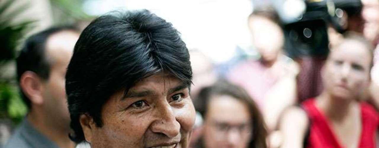 8.- Bolivia, presidente Evo morales. El 57% de los bolivianos considera que la corrupción se ha elevado en los dos últimos años.