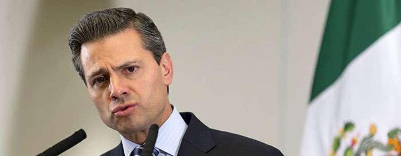 2.- México, presidente Enrique Peña Nieto. Un 71% de los mexicanos considera que la corrupción se ha elevado en los dos últimos años.´