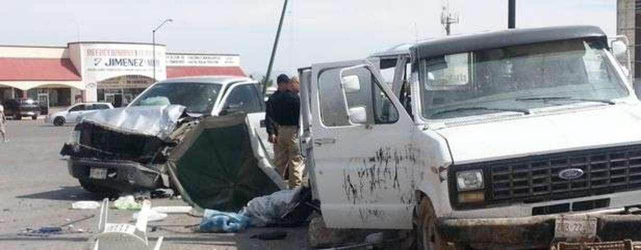 El 11 de julio, Cinco personas resultaron lesionadas en un choque doble provocado por agentes de la Policía Ministerial que circulaban a exceso de velocidad en el estado mexicano de Chihuahua.