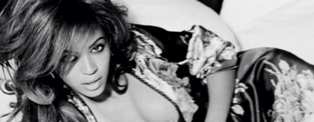 17 de Julio - ¿Dónde dejó Beyoncé el glamour? La cantante compartió estas fotos de una sesión que tuvo para una revista
