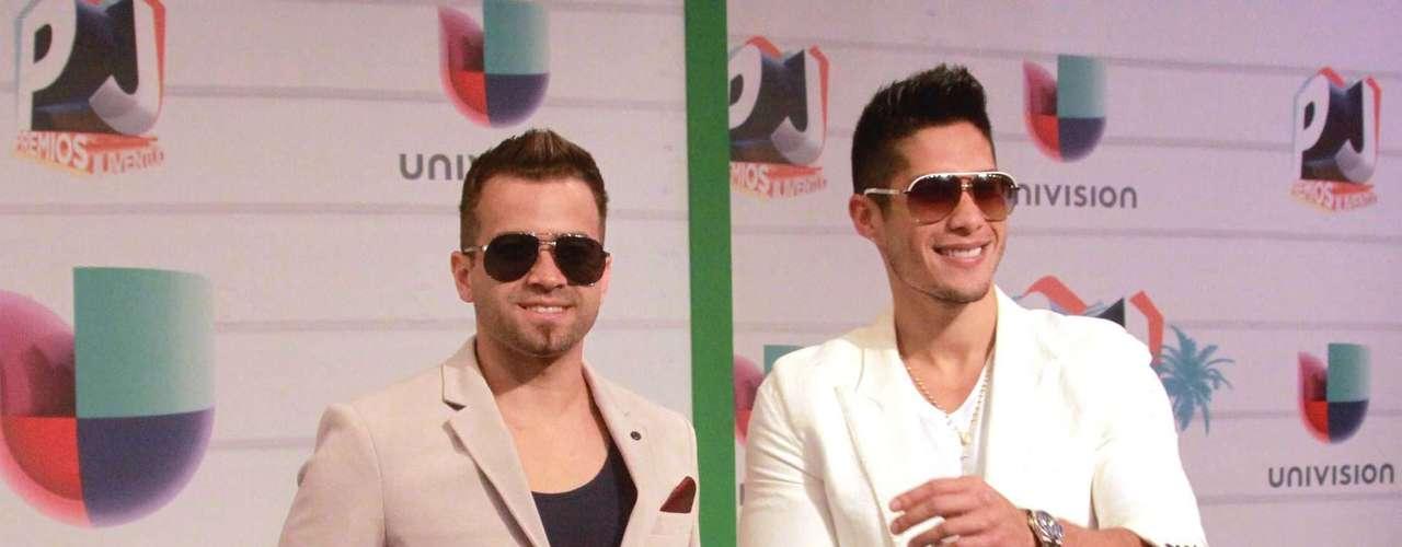 Los guapos de Chino y Nacho no podían faltar a los premios
