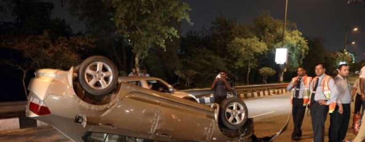 9. Los accidentes de tráfico sí forman parte de las diez principales causas, dado que matan diariamente a 3.500 personas en el mundo.