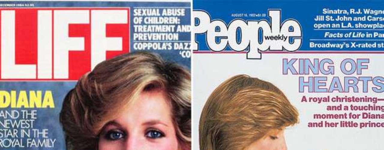 Diana posó para las revistas 'Life' y 'People' poco después de dar a luz a su primogénito William. ¿Hará lo mismo Kate Middleton con su pequeño?