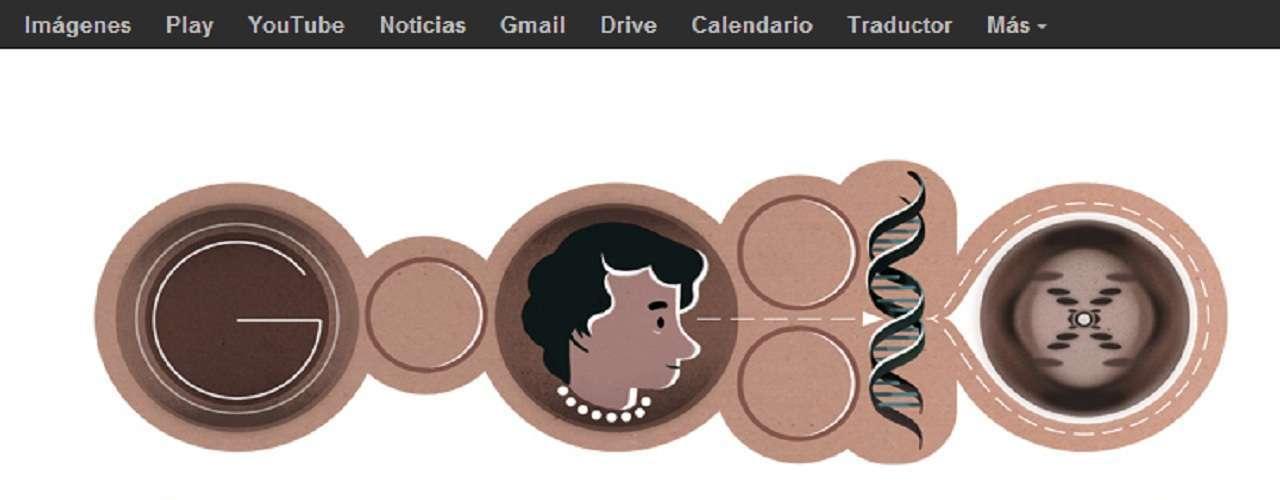 Este 25 de julio Google recuerda a Rosalind Franklin autora de importantes contribuciones para la comprensión de la estructura del ADN, los virus, el carbón y el grafito con un doodle inspirado en sus investigaciones.
