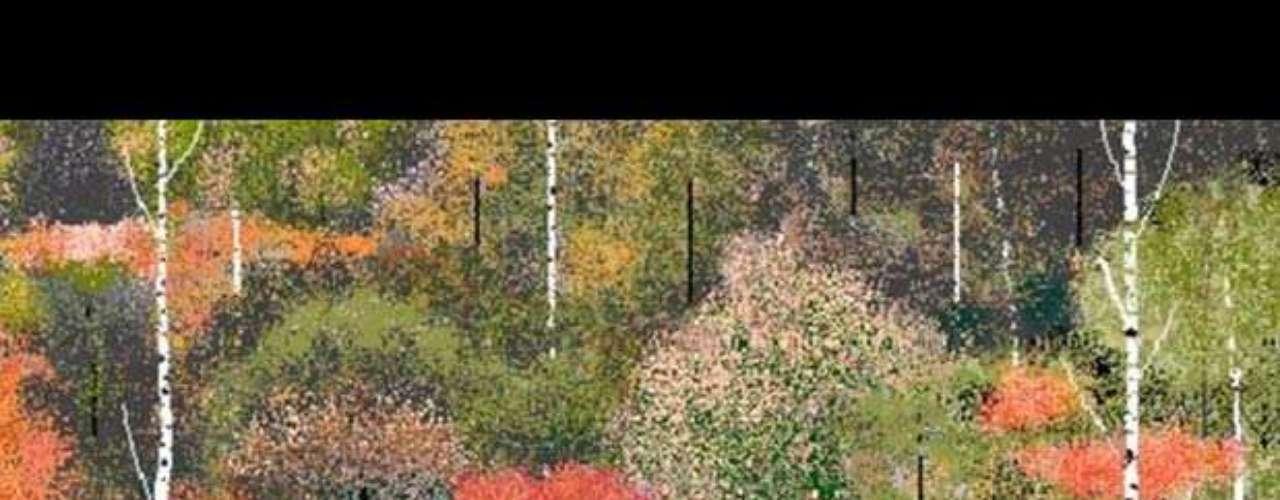 Hal Lasko, un veterano de la Segunda Guerra Mundial de 97 años, usa el software de dibujo de Windows 95 para crear obras de arte que, señala, están hechas en base a puntillismo y 8-bits. Conocido como Grandad (el abuelo), las vende online a través de http://hallasko.com/