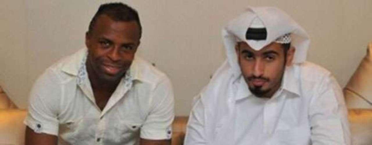 Hace tres semanas, Benítez había firmado contrato con El Jaish SC de Qatar.