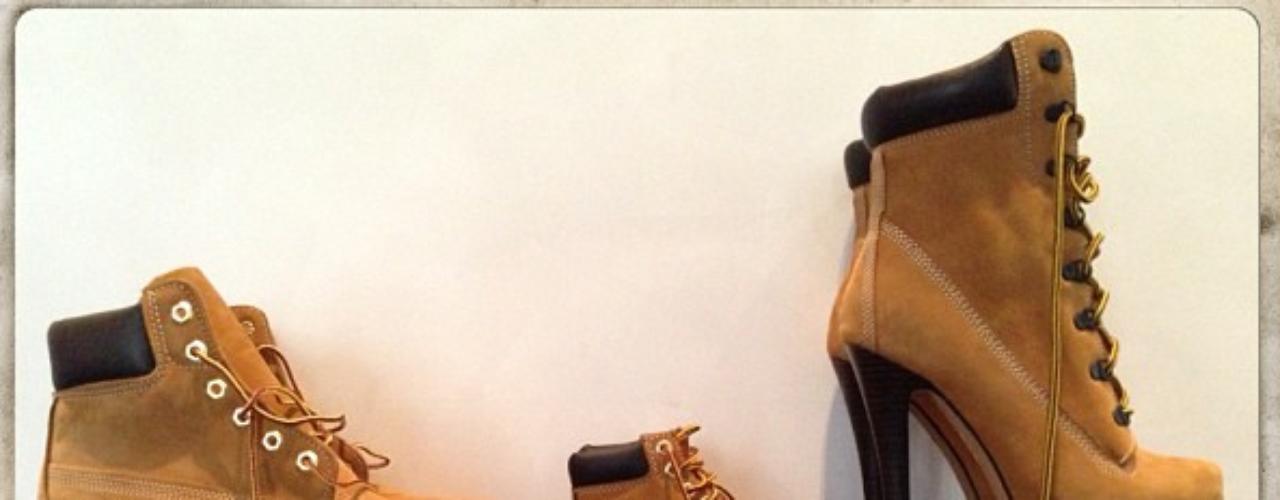 2 de Agosto - Beyoncé mostró que su familia tiene estilo. La cantante enseñó sus zapatos junto a los de su hija Blue y su esposo Jay Z. ¿Pueden adivinar cuáles son los de ella?