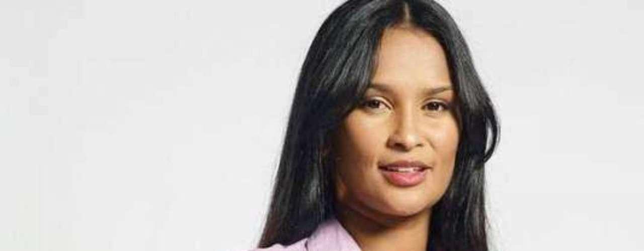 Clarissa Galván, la esposa del 'Pibe' Valderrama (Interpretada por Yeimy Paola Vargas).