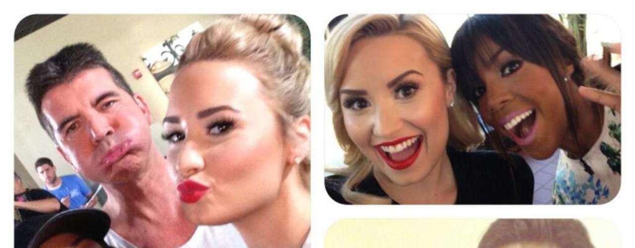 5 de Agosto - Demi Lovato es la más entusiasta en las audiciones de 'The X Factor'. Lovato demostró que entre ella y sus compañeros del programa existe mucho cariño y buena camaradería.
