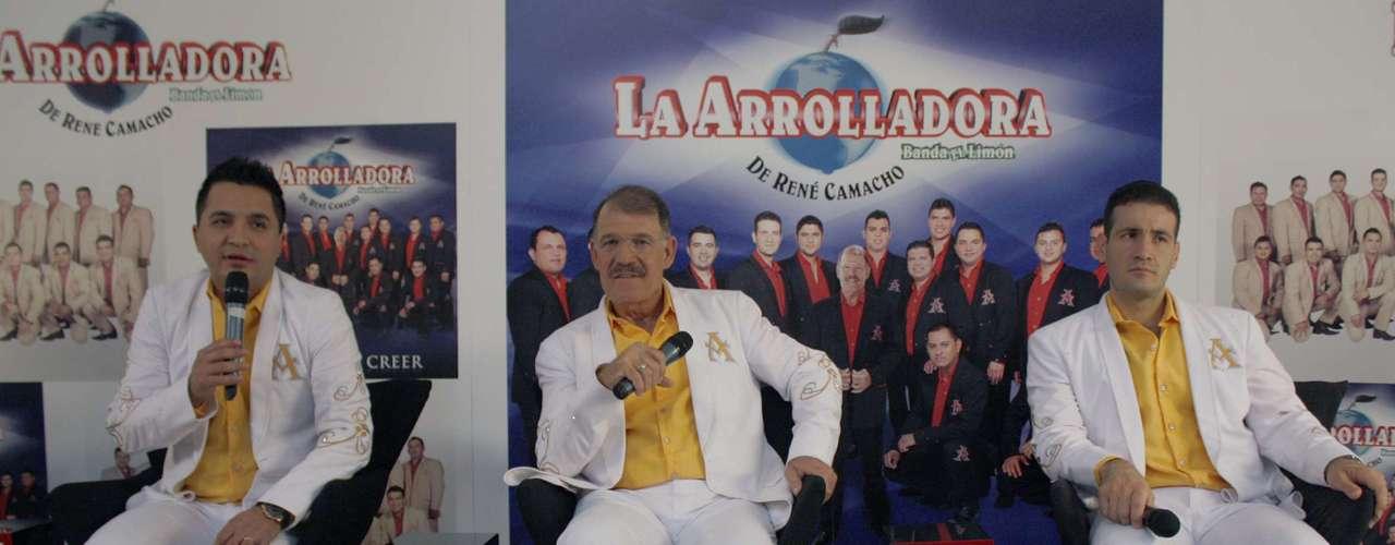 El líder y fundador de la Arrolladora, René Camacho, destacó que además de ser el título de una canción que incluyen en este material, \