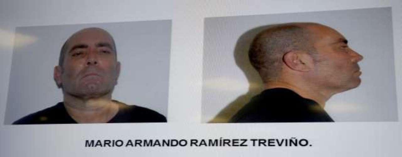 Otro duro golpe al narcotráfico fue la detención del líder del cártel del Golfo, Mario Armando Ramírez Treviño, alias \