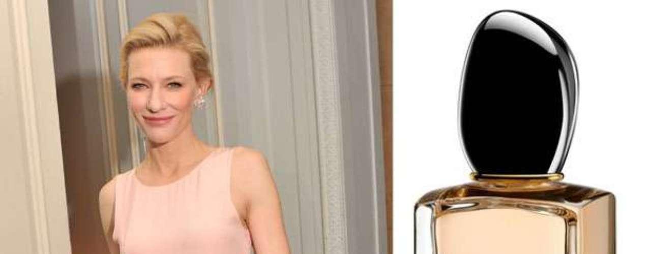 Cate Blanchet.La espléndida rubia obtuvo millonarias ganancias por ser la protagonista de la última campaña de Armani, con la cual la famosa marca promociona su perfume Si.