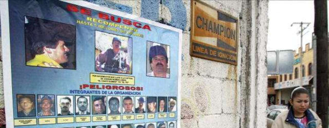 Cártel de Sinaloa. Nacida en México, tiene años dedicándose al tráfico de sustancias ilícitas como marihuana y cocaína. Se enfrentó por mucho tiempo a otras bandas, logrando obtener territorios que dominaban el cártel de Juárez y el cártel de Tijuana. Sus miembros forman parte de la lista de los más buscados por el FBI.