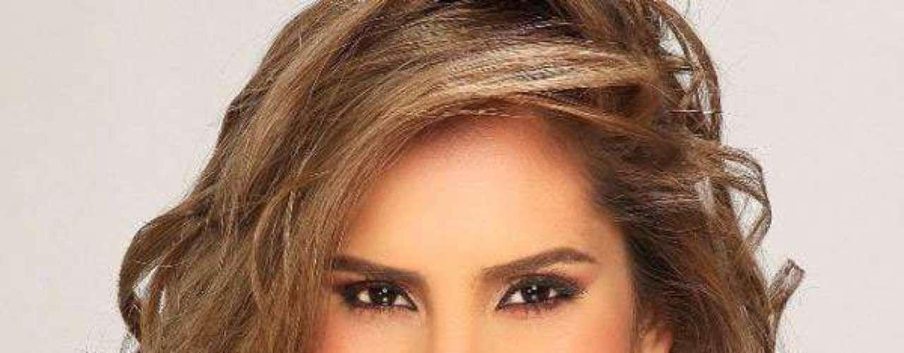 Miss Colombia - Daniela Ocoró Mejía. Tiene 22 años de edad, mide 1.70 metros de estatura. Resie en Cali.