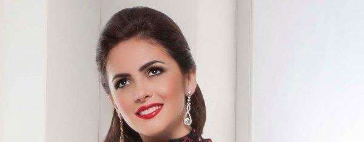 Miss Ecuador - Laritza Libeth Párraga Arteaga. Tiene 19 años de edad, mide 1.73 metros de estatura. Reside en Santo Domingo de los Colorados