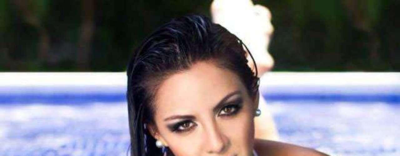 M;iss Guatemala - Karla Loraine Quinto Turcios. Tiene 25 años de edad, mide 1.68 metros de estatura y reside en Ciudad de Guatemala.