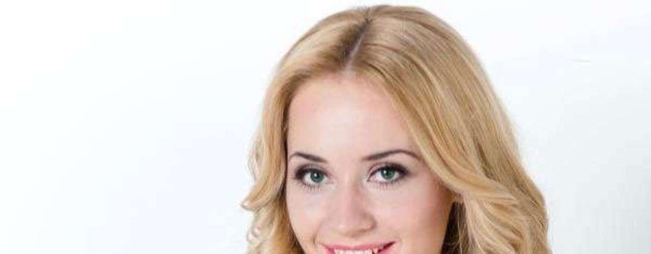 Miss Lituania - Rta Elbieta Mazureviit. Tiene 22 años de edad y mide 1.82 metros de estatura. Reside en Vilna