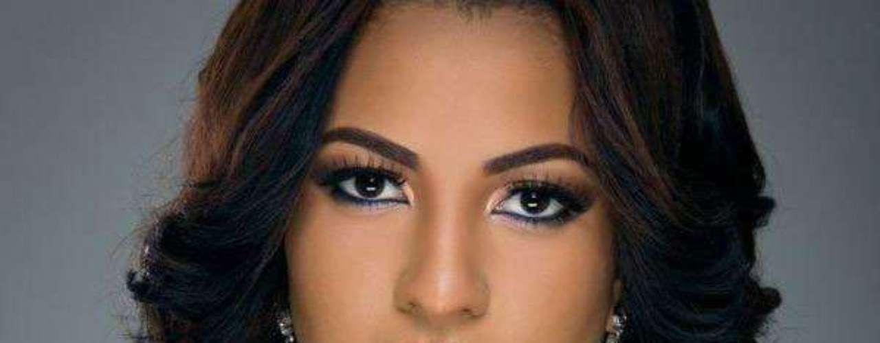 Miss Trinidad y Tobago - Sherrece Daliah Dalana Mary Villafaña. Tiene 19 años de edad, mide 1.75 metros de estatura y reside en San Fernando