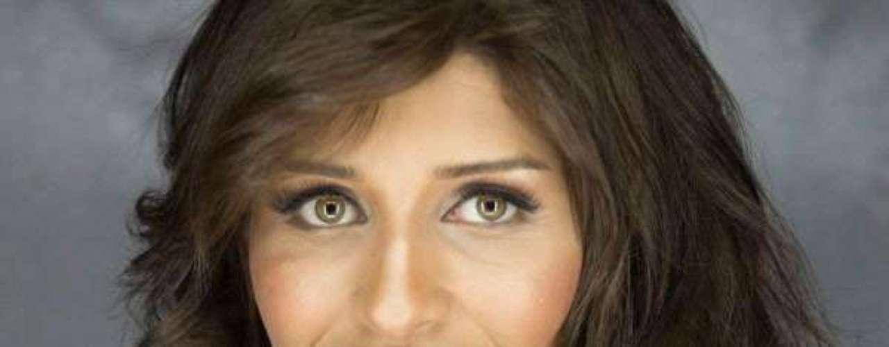 Miss Túnez - Hiba Talmoudi. Tiene 22 años de edad, mide 1.78 metros de estatura y reside en Gabes.