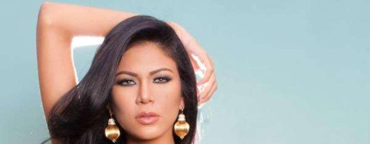 Miss Venezuela - Karen Andrea Soto Lugo. Tiene 21 años de edad, mide 1.79 metros de estartura y reside en Maracaibo
