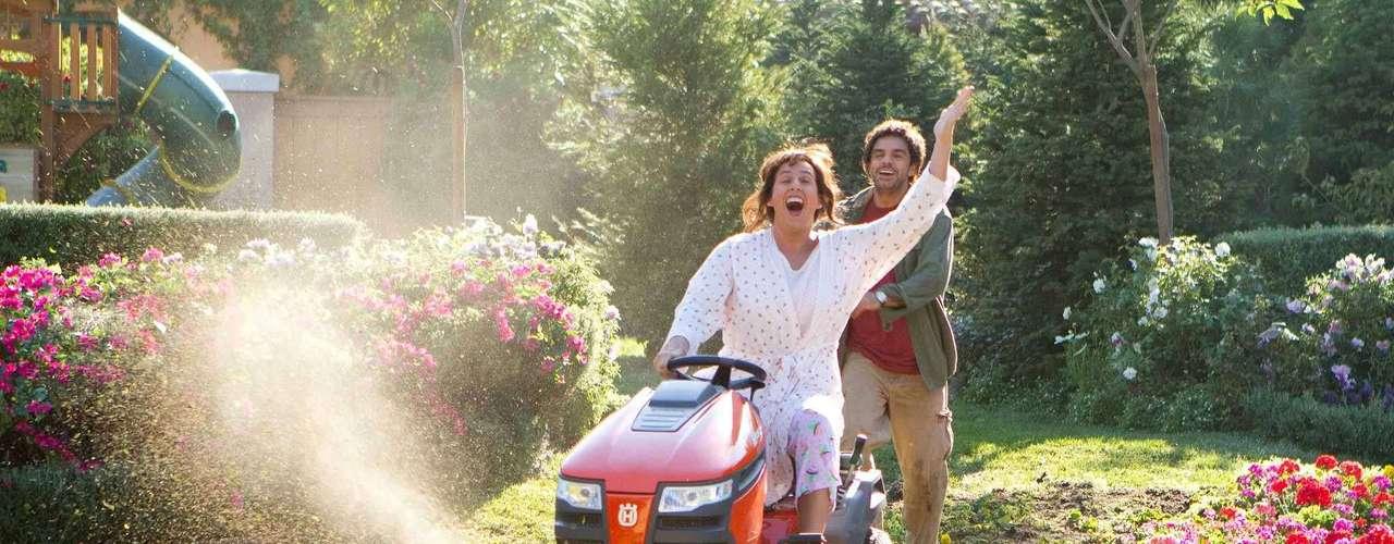 Aquí lo vemos junto a Adam Sandler en la comedia Jack & Jill. Su personaje estuvo divertido, aunque la película fue nombrada la peor del 2011.