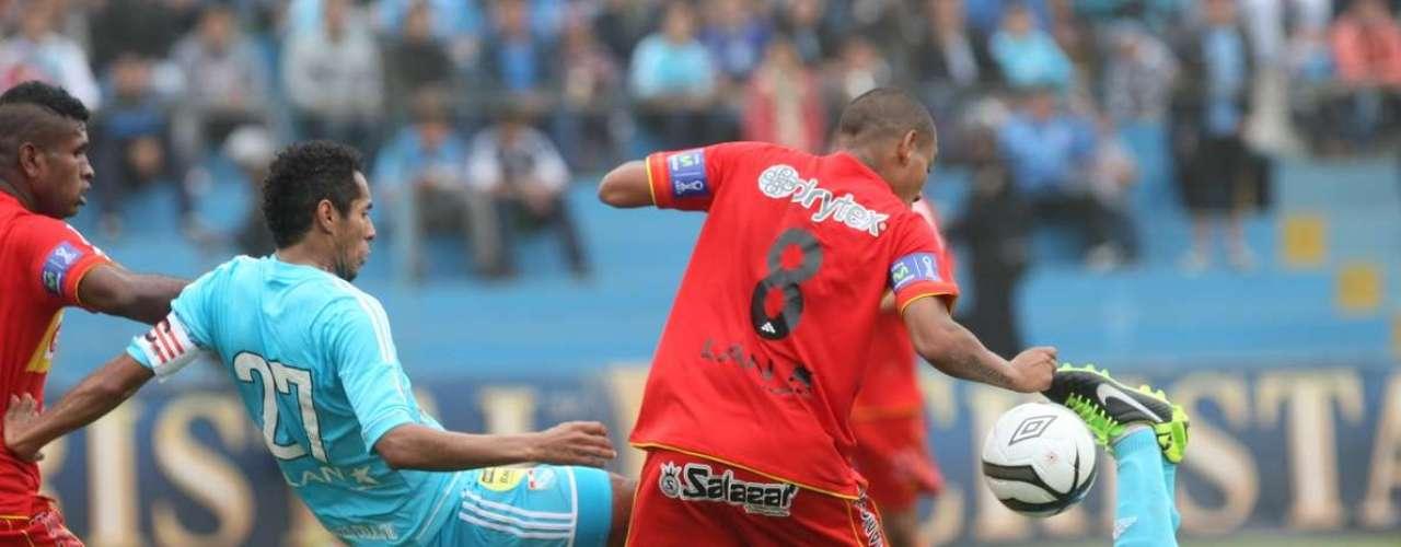 Rvive las mejores imágenes del triunfo de Cristal por 1-0 al Sport Huancayo.