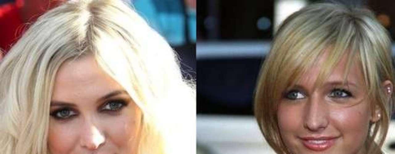 Ashely Simpson se hizo un cambio rotundo denariz. Actualmente es reconocida por su belleza.