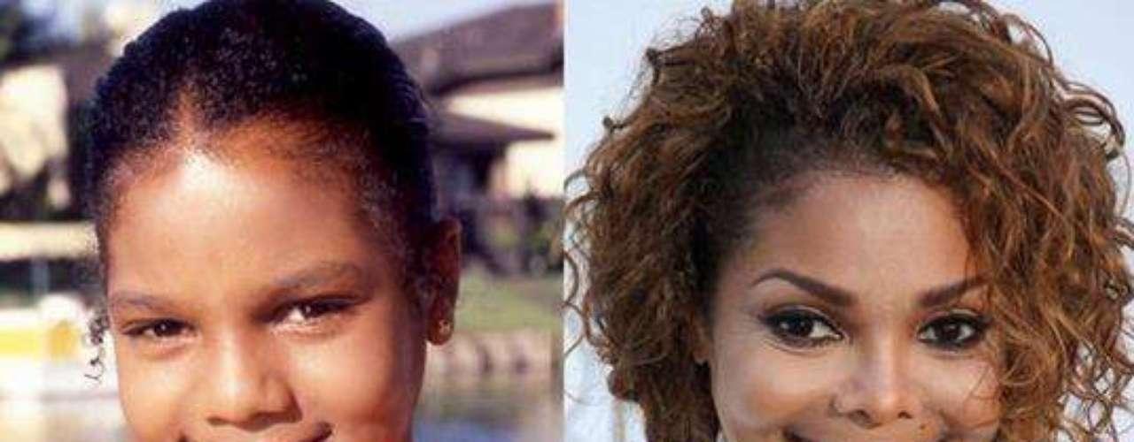 Aunque el cirujano no fue el mejor,la cantante Janet Jackson se hizo una rinoplastia a los dieciséis años.