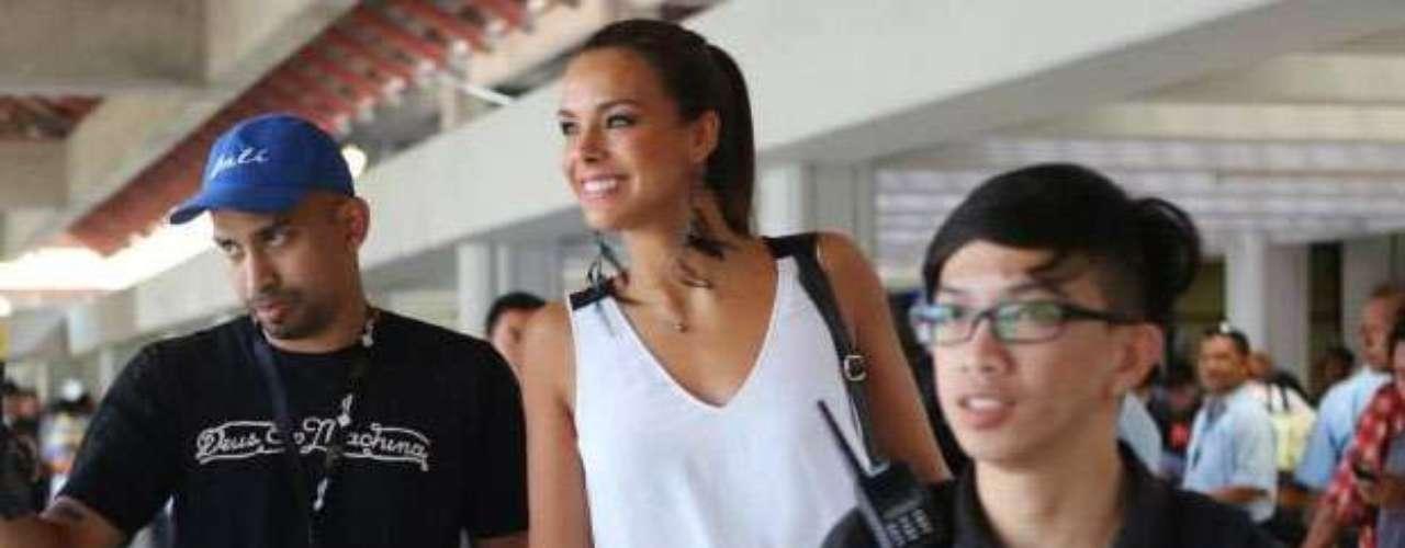 Toda la emoción de Miss Francia con su gran recibimiento en el aeropuerto.