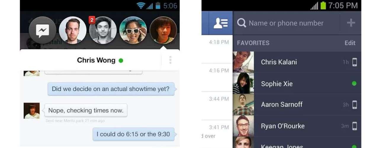 5 - Facebook Messenger - desarrollado por Facebook