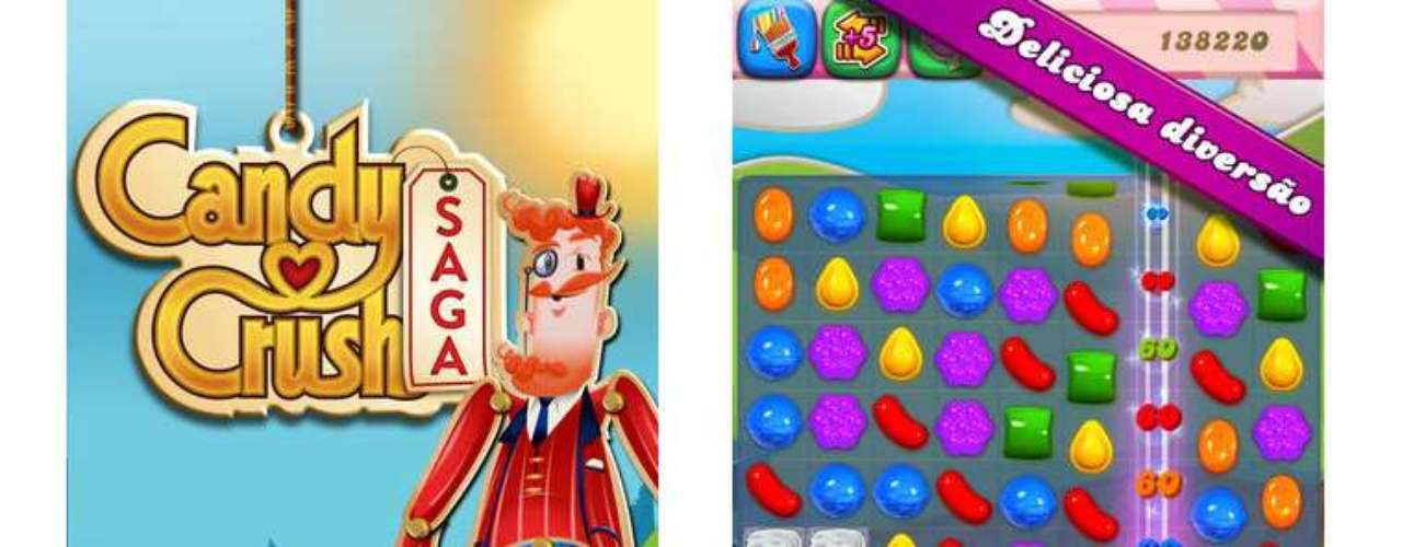 9 - Candy Crush Saga - desarrollado por King.com Limited