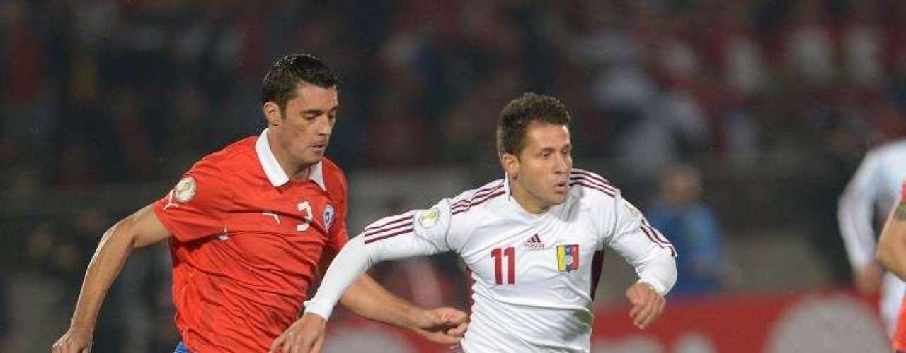 Marcos González se apuntó el segundo gol en el triunfo de La Roja.