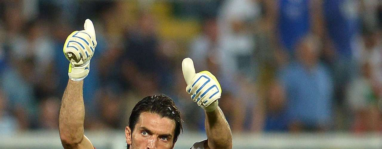 Gianluigi Buffon (Italy): The veteran goalkeeper proved he hasn't lost a step with amazing saves to help Italy earn three points against a persistent Bulgaria.