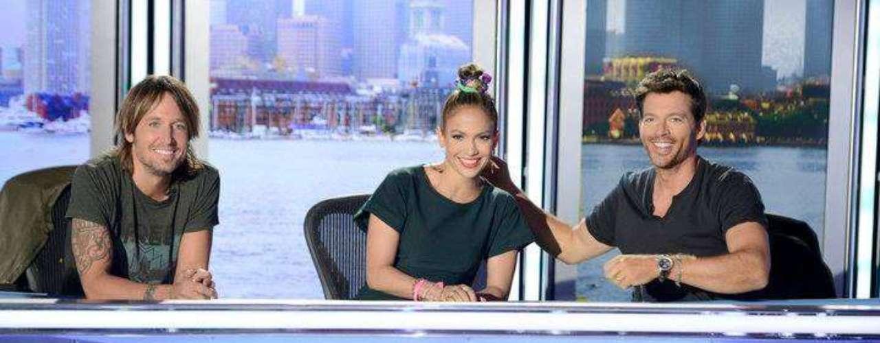 9 de Septiembre - Jennifer Lopez ya está de regreso en las audiciones de American Idol junto a Keith Urban y Harri Conick Jr.