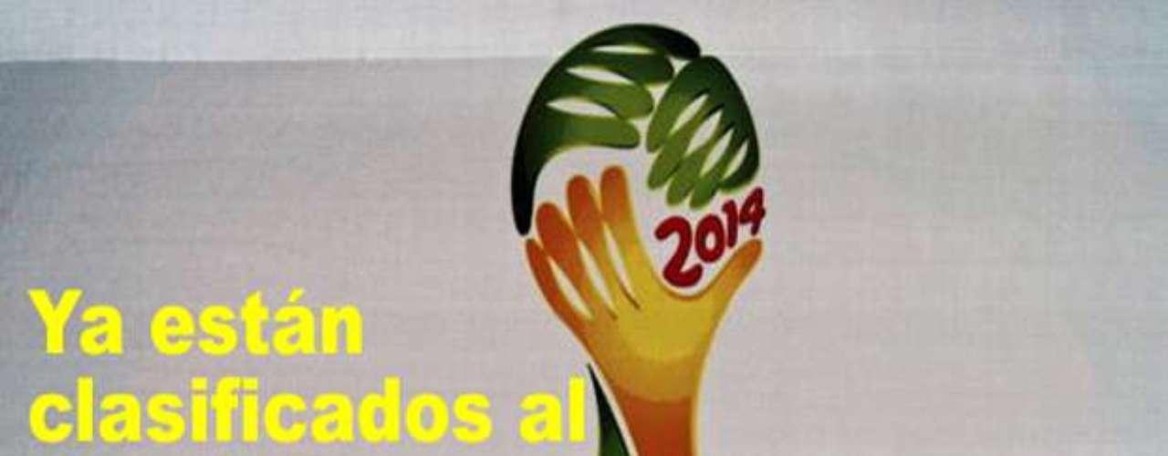 Estas son las selecciones que ya están en Brasil 2014.