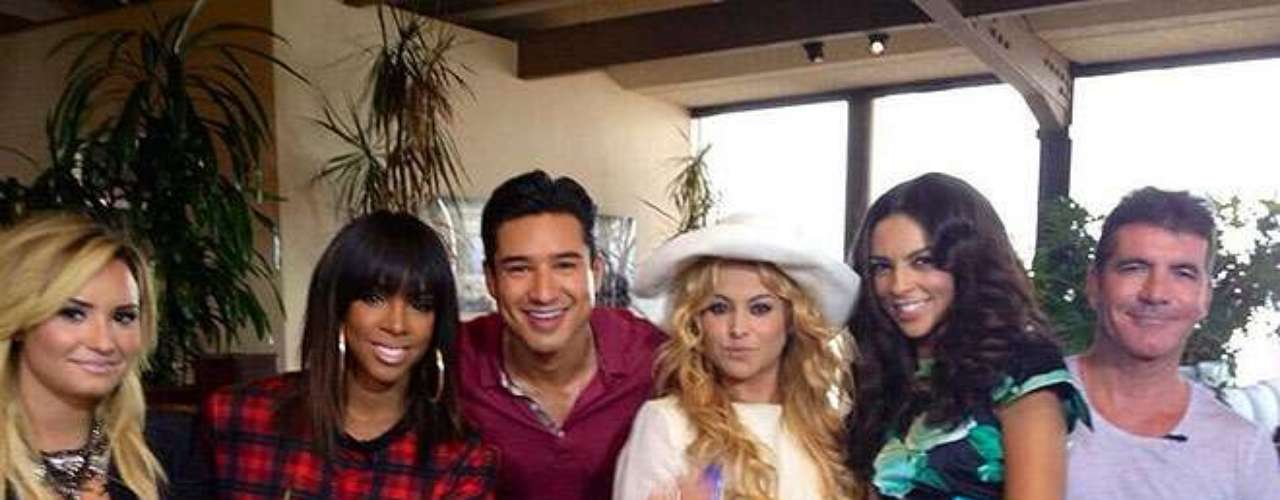 10 de Septiembre - Paulina se reunió con todos sus compañeros de 'The X Factor' para iniciar una tercera temporada que promete muchas sorpresas.