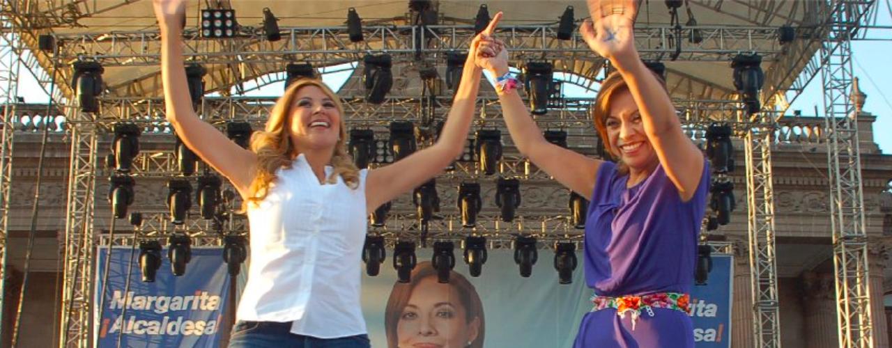 Margarita Arellanes La alcaldesa de Monterrey,puntea la lista de aspirantes albiazules. Tiene a su favor su condición de mujer y una popularidad en ascenso desde que tomó protesta al frente del Municipio.