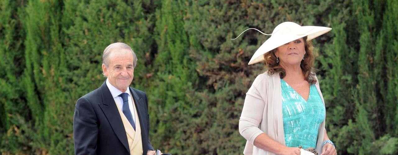 José María García y su mujer, Montse Fraile.